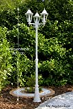 Candelabra outdoor lamp post garden lighting
