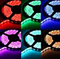 OxyLED Waterproof Color Changing RGB LED Strip Light Kit,300 LEDs, 16.4ft