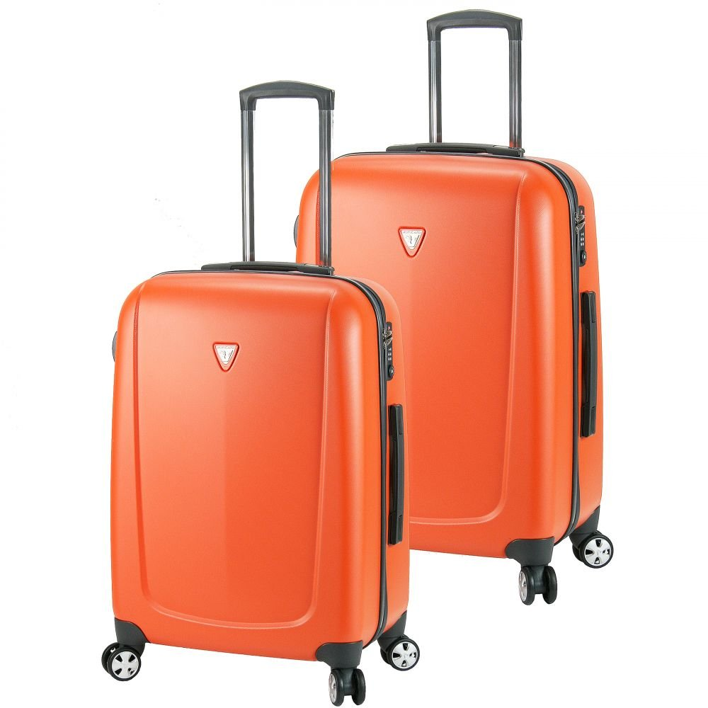 Roncato Colorado 4-Rollen Trolley Set 2tlg. arancio