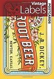 Vintage Labels Postcards (Dover Postcards)