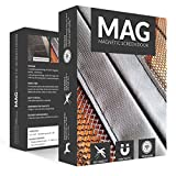 MAG Magnetic Mesh Screen Door 34 Inch - Bug Off Curtain, Black