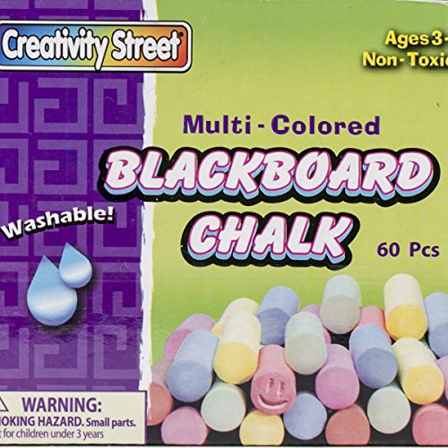Blackboard Multicolored Chalk - 60 Piece