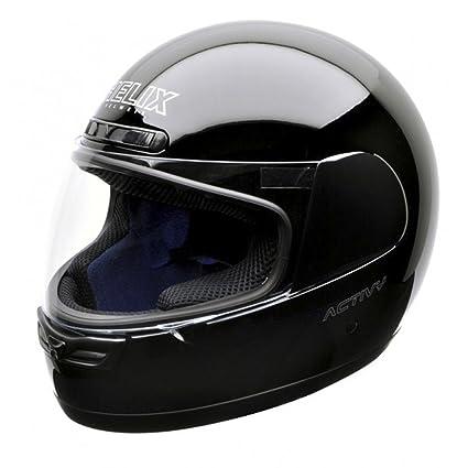 NZI 150244G046 Activy Classic Black, Casque de Moto, Taille XS Noir