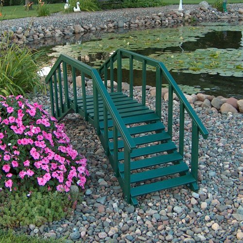 Prairie Leisure Ornamental 6.5-ft. Decorative Garden Bridge
