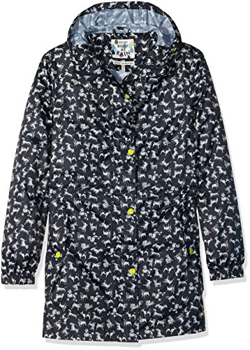 Joules Golightly Parka - Women's Marine Navy Scribbly Dog, 2 (Joules Rain Coat compare prices)