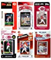 MLB Cincinnati Reds 6-Different Licensed Trading Card Team Set