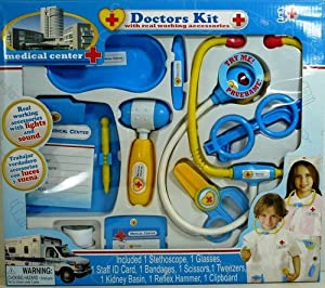 Amazon.com: Medical Center Doctors Kit with Real Working Accessories