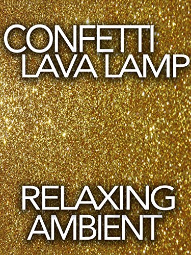 Confetti Lava Lamp Relaxing Ambient