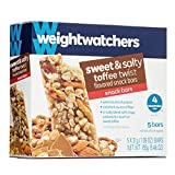 Weight Watchers Sweet & Salty Toffee Twist Snack Bars 3 Ppv