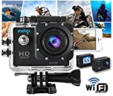 Indigi? Waterproof HD 1080p WiFi Outdoor Sports DV Cam Video Recording WiFi Feature - Remote Shutter & View From iPhone Android Phone -