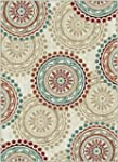 Universal Rugs 1011 Deco Transitional...