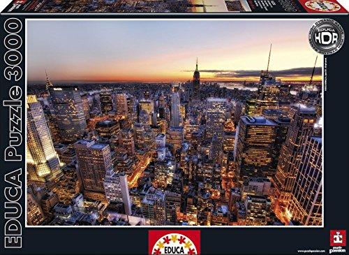 Educa Borrás 14824 - 3000 Atardecer En Manhattan