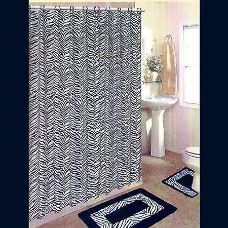 black white polyester zebra rug walmartcom party