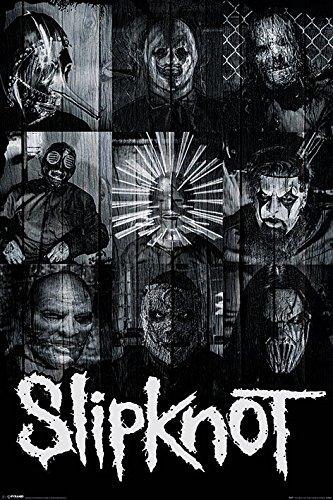 """Slipknot-Masks-POSTER 61 x 91,5 cm/POSTER """""""