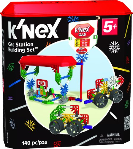 K'NEX Classics Gas Station Building Set - 1