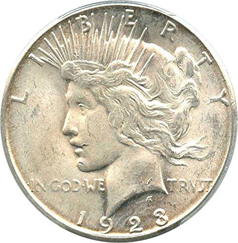 1923 S Peace Dollars Dollar MS64 PCGS At Amazon's
