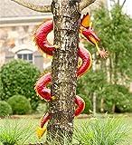 Handcrafted Metal Dragon Tree Sculpture