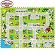 12pcs Meikotu EVA Print foam puzzle mat /Waterproof Interlocking Exercise Tiles 15.8 \