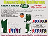 Anaconda Sports® Italian Reversible Basketball Team Package (Call 1-800-398-7625 to order)
