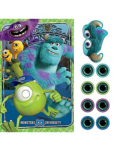 Monsters University Inc. Party Game Poster (1ct)