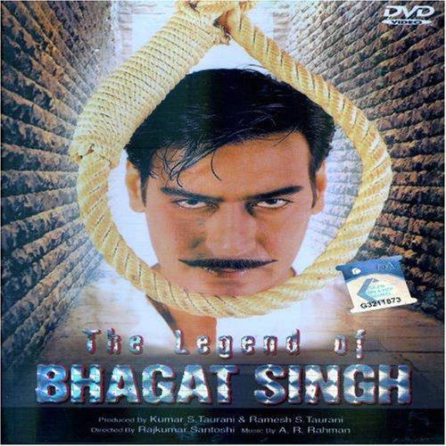 The Legend of Bhagat Singh (2002) DM - Ajay Devgan, Raj Babbar, Sushant Singh, D Santosh, Amrita Singh, Akhilendra Mishra, Farida Jalal, Mukesh Tiwari, Keneth Desai, Indrani Banerjee, Amitabh Bhattacharya, Sanjay Sharma, Deepak Kumar Bandhu, Abir