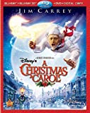 Disneys A Christmas Carol (Four-Disc Combo: Blu-ray 3D / Blu-ray / DVD / Digital Copy)