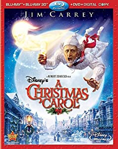 A Christmas Carol [Blu-ray 3D + Blu-ray + DVD + Digital Copy] (Bilingual)