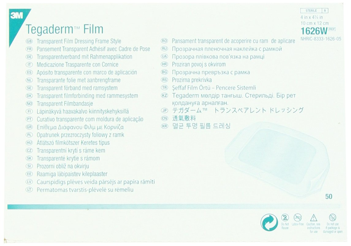 3M Tegaderm Film 4? x 4 3/4