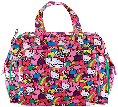 Ju-Ju-Be Hello Kitty Collection Be Prepared Diaper Bag, Lucky Stars