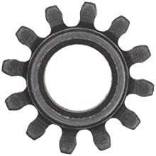 Martin Spur Gear, 14.5 Pressure Angle, High Carbon Steel, Inch, 24 Pitch