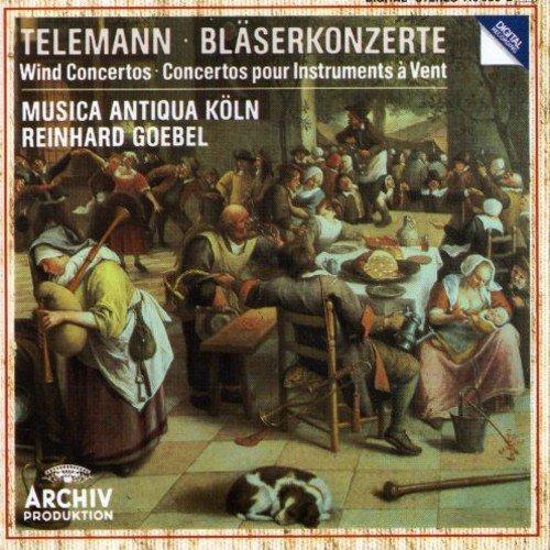 CD : TELEMANN / GOEBEL / MUSICA ANTIQUA KOLN - Telemann: Wind Concertos