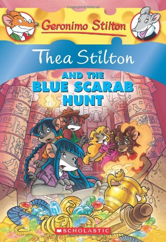 Image of Thea Stilton and the Blue Scarab Hunt: A Geronimo Stilton Adventure