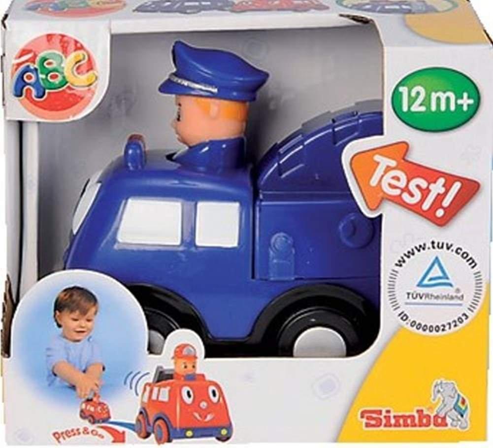 Simba 7494P – Press and Go Car Polizei günstig online kaufen