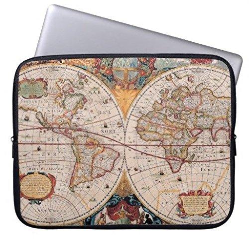 electronics-fundas-neopreno-portatil-160602-1-vintage-antique-old-world-map-design-faded-print-10-10