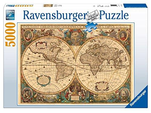 17411 - Historische Weltkarte Puzzle, 5000 Teile