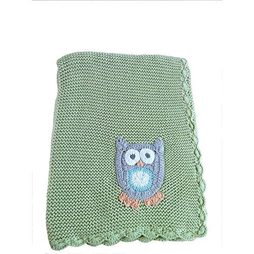 Koala Baby Owl Crochet Blanket - 1