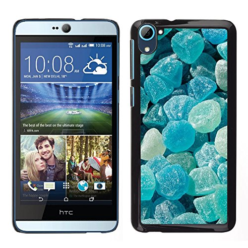 iBinBang / Slim Design Hard Sanp Case Cover - Crystal Meth Rocks Candy Blue Beach - HTC Desire D826