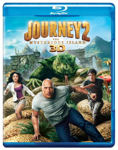 Journey 2: The Mysterious Island (Three-Disc Blu-ray 3D/Blu-ray/DVD Combo +  UltraViolet Digital Copy)