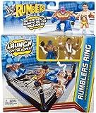 WWE Rumblers Ring Rey Mysterio and Alberto Del Rio Playset