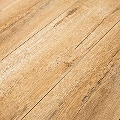 Timeless Designs Sweet Honey 12mm Laminate Flooring with 2mm Attached Foam Backing CS13024 SAMPLE