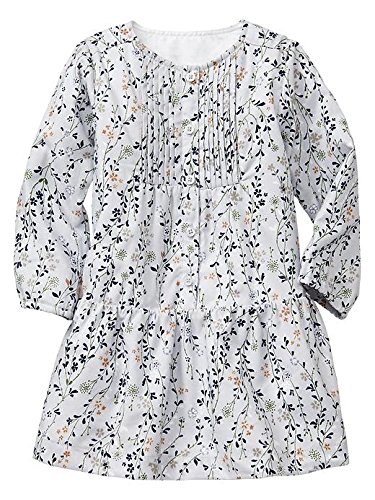 Gap Baby Floral Pleated Bib Dress Size 12-18 M front-1019092
