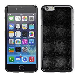 Omega Covers - Snap on Hard Back Case Cover Shell FOR Iphone 6/6S (4.7 INCH) - Polygon 3D Art Pattern Futuristic Black