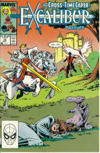 Excalibur #12 : My Friends Call Me Billy The Kid (The Cross-Time Caper - Marvel Comics) back-346125