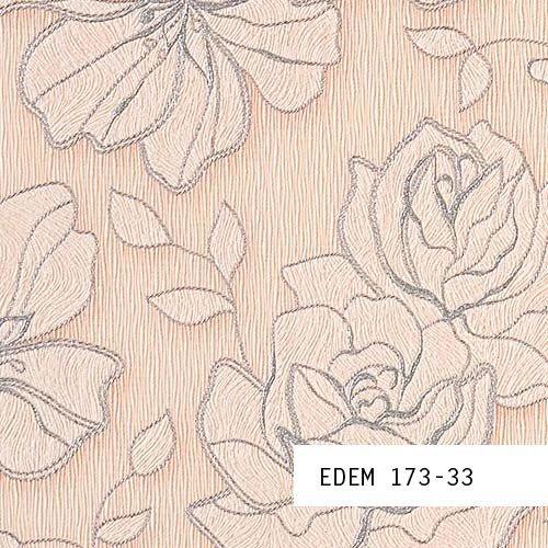 Wallpaper SAMPLE EDEM 173-series | Design floral flower wallpaper - wallcovering , 173-XX:S-173-33