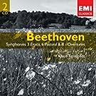 Beethoven: Symphonies 3 'Eroica', 6 'Pastoral' & 8 - Overtures