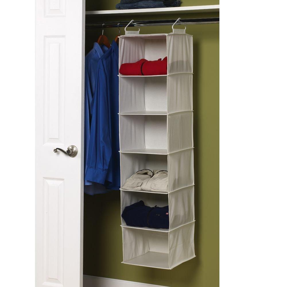 Dorm Space Saver Shelf New Hanging Closet Organizer Space