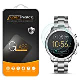 [2-Pack] Supershieldz for Fossil Q Explorist Gen 3 Tempered Glass Screen Protector, Anti-Scratch, Bubble Free, Lifetime Replacement