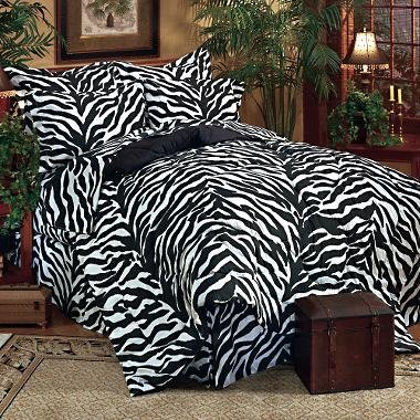 Zebra Print Bedding Twin front-164190