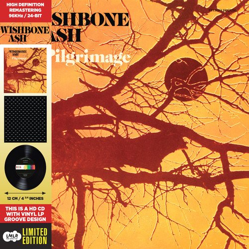 Wishbone Ash - Pilgrimage (Limited Edition, Remastered, Collector\'s Edition, Mini LP Sleeve, Digipack Packaging)