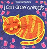 img - for I Can Draw Animals (Usborne Playtime Series) book / textbook / text book